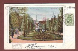 Lettonie - RIGA - Basteianlagen - 1903 - Latvia
