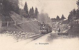 Brünigbahn - Jahrhundertwende        (P-164-60712) - Trains