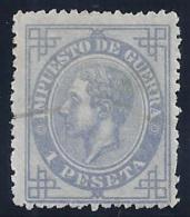 ESPAÑA 1876 - Edifil #186 - 1875-1882 Reino: Alfonso XII