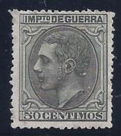 ESPAÑA 1879 - Edifil #NE8 Sin Goma (*) - Nuevos