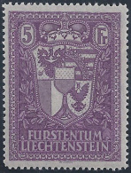 LIECHTENSTEIN 1935 - Yvert #128 - MLH * - Ungebraucht