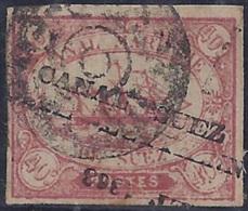 CANAL DE SUEZ/EGIPTO 1866 - VFU - 1866-1914 Khedivato De Egipto