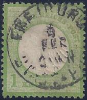 ALEMANIA 1872 - Yvert #7 - Usados