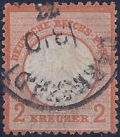 ALEMANIA 1872 - Yvert #8 - Usados
