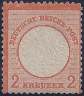 ALEMANIA 1872 - Yvert #21 - MLH * - Nuevos