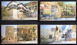 Greece 2018 EuroMed Houses In The Mediterrean Miniature Sheet Unofficial FCD - Nuevos