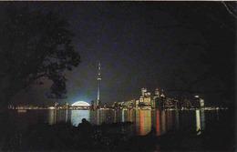 Canada > Ontario > Toronto, Sparking Lights Toronto Harbour, Nuit, Used - Toronto