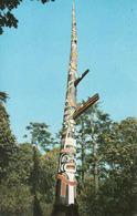 Canada > British Columbia > Victoria, Tallest Totem Pole Beacon Hill Park, Used 1968 - Victoria