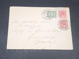 PAYS BAS - Entier Postal + Complément De Nijmegen Pour Java En 1908 - L 19803 - Postal Stationery
