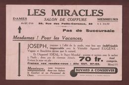 """BUVARD - SALON DE COIFFURE - """"LES MIRACLES"""" - Chez JOSEPH - 33 Rue Des Petits-Carreaux à PARIS - 2 Scannes - Perfume & Beauty"""