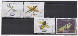 Guiné-Bissau Guinea Guinée Bissau 1996 Insects Insectes Insekten Set Of 4 Stamps Mi. 1239 - 1241  MNH ** - Guinée-Bissau