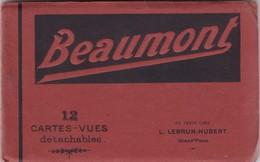 BEAUMONT / CARNET AVEC 12 CARTES - Beaumont