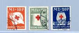 1930 FINLANDIA SET USATO 156/158 - Finlandia