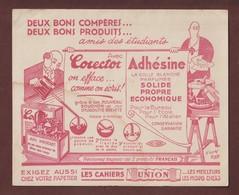 BUVARD - CORECTOR / ADHESINE / CAHIERS UNION - Amis Des Etudiants - Produits Français - 2 Scannes - Stationeries (flat Articles)