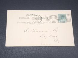 CANADA - Entier Postal Commerciale De Montréal En 1913 - L 19814 - 1903-1954 Reyes