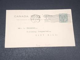 CANADA - Entier Postal Commerciale De Montréal En 1912 - L 19815 - 1903-1954 Reyes