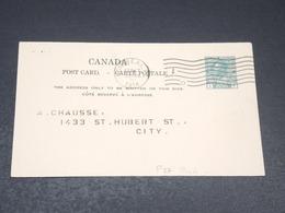 CANADA - Entier Postal Commerciale De Montréal En 1914 - L 19816 - 1903-1954 Reyes