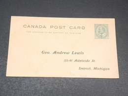 CANADA - Entier Postal Repiqué Non Circulé - L 19817 - 1903-1954 Reyes