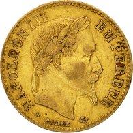 Monnaie, France, Napoléon III, 10 Francs, 1862, Strasbourg, TB+, Or - Frankreich