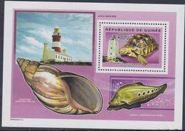 Guinée BF N° 283 Phares Et Faune Marine ( II ), Le Bloc Sans Charnière, TB - Guinea (1958-...)
