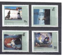 OST1446 ALBANIEN 1984  MICHL  2225/28  ** Postfrisch SIEHE ABBILDUNG - Albanien