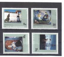 OST1345 ALBANIEN 1984  MICHL 2225/28 Postfrisch SIEHE ABBILDUNG - Albanien