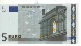 "5 EURO  ""E""  SLOVAKIA     Firma Trichet     E 010  H6     /  FDS - UNC - EURO"