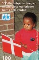 TARJETA TELEFONICA DE DINAMARCA. TDR024 - Sos Children Town (013) - Dinamarca