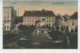 POLOGNE - POLAND - WARSZAWA - Pomnik Mickiewicza - Poland