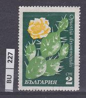 BULGARIA   1970cactus 2 St Usato - Gebraucht