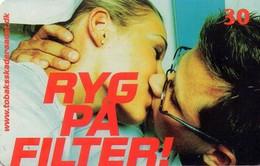 TARJETA TELEFONICA DE DINAMARCA. TDR027 - Smoke On Filter (013) - Dinamarca
