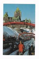 Belle CPM Coul. Québec (Canada), Terrasse Dufferin, Années 1950-1960 - Québec - La Cité