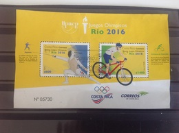 Costa Rica - Sheet Olympische Spelen (2000) 2016 - Costa Rica