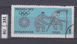 BULGARIA  1972Olimpiadi Di Monaco  1 St Usato - Gebraucht