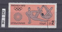 BULGARIA  1972Olimpiadi Di Monaco  2 St Usato - Gebraucht