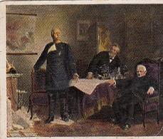 Les Négociations De Paix 1871 - N°238 - Cartes De Cigarettes Allemandes Eckstein No. 5 De 1934 - Otras Marcas