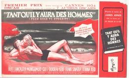 """Publicitaire """" Tant Qu'il Y Aura Des Hommes """" Avec Burt Lancaster, Deborah Kerr Et Frank Sinatra ( Manque ) - Pubblicitari"""
