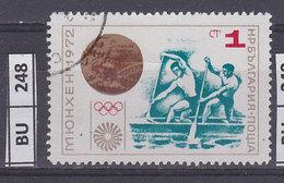 BULGARIA  1972medaglie  Olimpiche  1 St Usato - Gebraucht