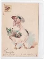 Carte Postale Illustrée à La Main Par ROBERTY Vers 1900 : Nicholas II - RUSSIE - Tzar (Chantecler) - Très Bon état - Satiriques