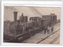 SAINT DIE : Carte Photo D'un Train (en Gros Plan) Dans Une Carrière - Très Bon état - Saint Die