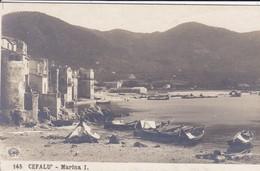 ITALIE---CEFALU'---marina I.--voir  2 Scans - Palermo