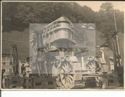 Suisse Bern, Engehalde, Transfert D'un Transformateur Brown Boveri Du Train Au Camion (615) Format 10x17 - Lieux