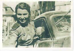 Red Army Girl - Krasnoarměika Czechoslovakia - Rote Armee Mädchen - Weltkrieg WW2 Shipping FREE - Unclassified