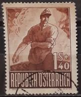 AUSTRIA 1947 Prisoners Of War Charity Stamps. USADO - USED. - 1945-.... 2ème République
