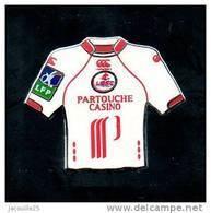 PINS PIN'S FOOT FOOTBALL LILLE LOSC MAILLOT CASINO PARTOUCHE - Football