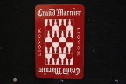 Playing Cards / Carte A Jouer / 1 Dos De Cartes Avec Publicité / Liquor , Grand Marinier - Cartes à Jouer