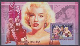 """Guinée BF N° 326 XX Personnalité : Marilyn Monroe: """"Certains L'aiment Chaud"""" Et Portrait De Kennedy, Le Bloc Ss Ch., TB - Guinea (1958-...)"""