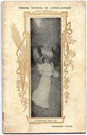 Théâtre National  De L'opéra-comique  Soirée Du 29/04/1910 MANON De H Meilhac Et P Gille  Musique J Massenet - Programs