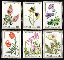 Greece 1978 - Flowers - Mi 1302-1307 MNH ** - Griekenland