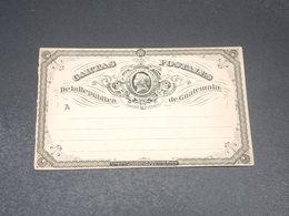 GUATEMALA - Entier Postal Non Circulé - L 19832 - Guatemala